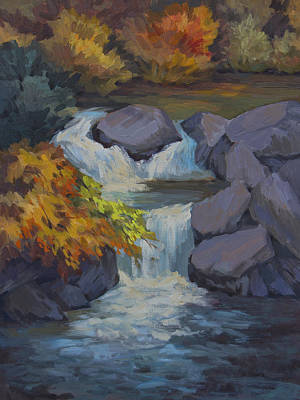 High Sierra Painting - Bishop Creek by Diane McClary