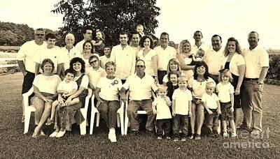 Photograph - Bishop Family Portrait by Paulette Thomas