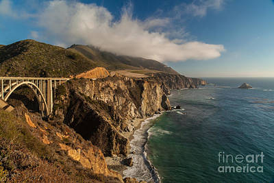 Big Sur California Photograph - Bixby Coastal Drive by Mike Reid