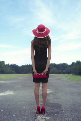 50s Photograph - Black And Red by Joana Kruse