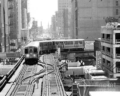 Chicago Photograph - Black And White Chicago Photograph by Horsch Gallery