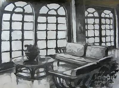 Black And White Designs Print by John Malone