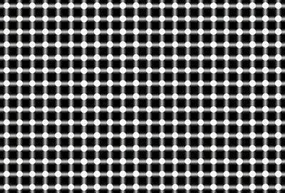 Gridlock Digital Art - Black And White Dots by Daniel Hagerman