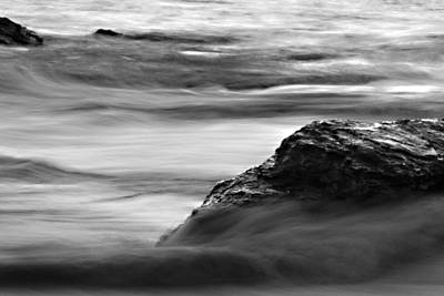 Color Photograph - Black And White Seascape by Pictorial Decor