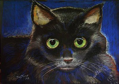 Black Cat Print by Dan Terry
