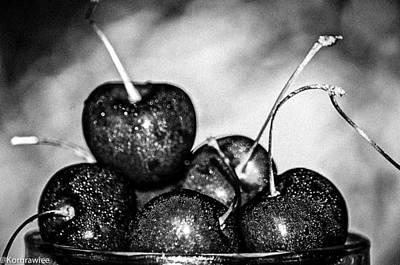 Photograph - Black Fruits by Kornrawiee Miu Miu