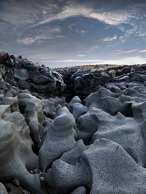 Idaho Photograph - Black Magic Canyon 12b by Leland D Howard