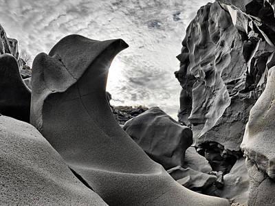 Basalt Photograph - Black Magic Canyon by Leland D Howard