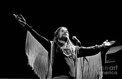 Singer Photograph - Black Sabbath Ozzy 1977 #2 by Chris Walter