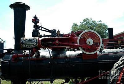 Kathleen Photograph - Black Steam Engine by Kathleen Struckle