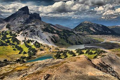 Mountain Scape Photograph - Black Tusk Viewpoint by Adam Jewell