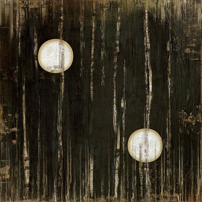Man Cave Painting - Black Two by Jennifer Pugh