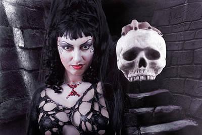 Body Paint Photograph - Black Widow by David April
