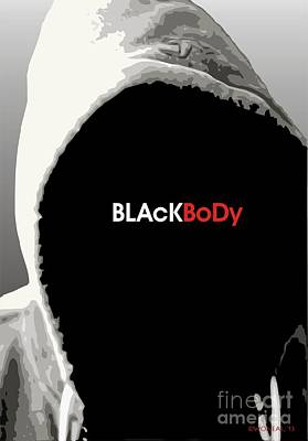 Racism Digital Art - Blackbody by Walter Oliver Neal