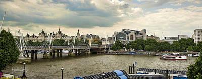 Panoramic Photograph - Blackfriars  by Heather Applegate