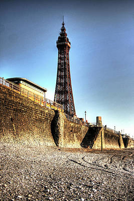 Dungeon Mixed Media - Blackpool Tower - Series 1 by Doc Braham