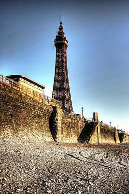 Ballroom Mixed Media - Blackpool Tower - Series 1 by Doc Braham