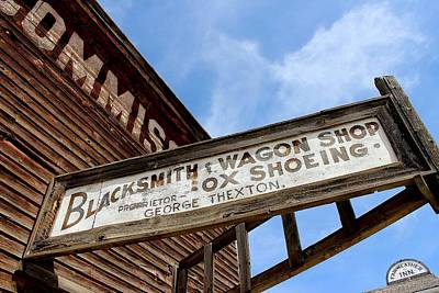 Blacksmith Shop Print by Mark Eisenbeil
