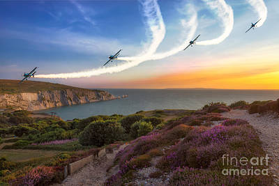 Airscape Photograph - Blades Over The Needles by English Landscapes