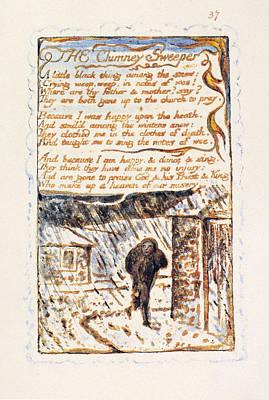 William Blake Drawing - Blake Chimney Sweeper by Granger