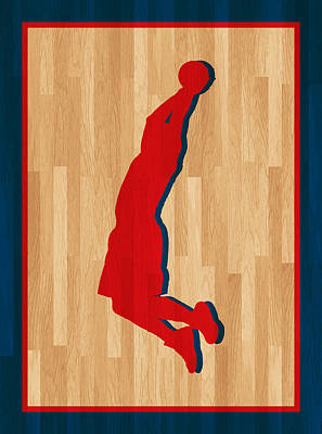 Blake Griffin Los Angeles Clippers Print by Joe Hamilton