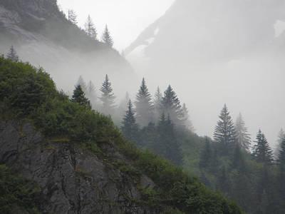 Blanket Of Fog Print by Jennifer Wheatley Wolf