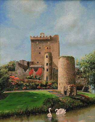 Blarney Castle Ireland Original by Cecilia Brendel