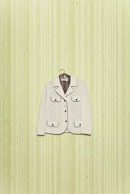 Coat Hanger Photograph - Blazer by Joana Kruse