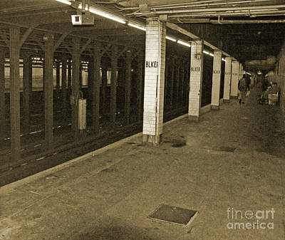 Metro Art Photograph - Bleecker Street by Angela Wright