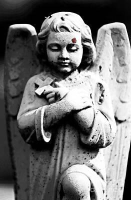 Bleeding Angel Print by John Rizzuto
