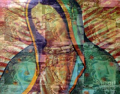 Blessed Lady Print by Patricia Januszkiewicz