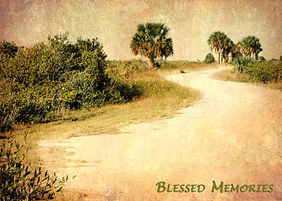 Blessed Memories Print by Dawn Currie