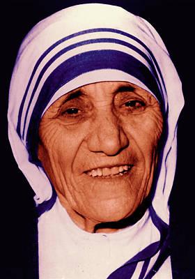 Blessed Teresa Of Calcutta Original by Li   van Saathoff