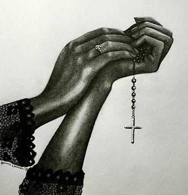 Blessings Print by Bonnie Leeman
