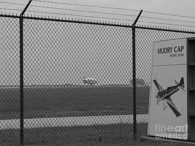 Black And White Photograph - Blimp II by Michael Krek