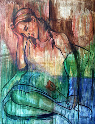 Bass Digital Art - Blind Date by Anthony Falbo