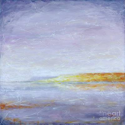 Sea View Painting - Bliss by Cristina Stefan