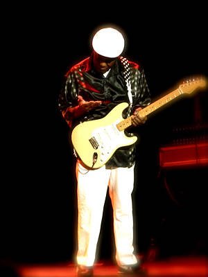 Blisteringly Hot Buddy Guy Original by Iconic Images Art Gallery David Pucciarelli
