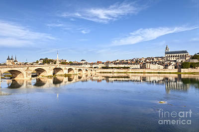 Cher Photograph - Blois Loire Valley France by Colin and Linda McKie