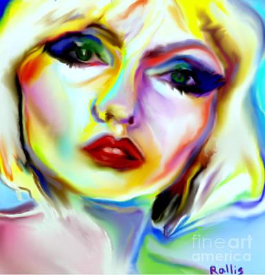 Blondie Digital Art - Blondie by Giannis Rallis