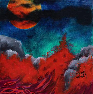 Blood Moon Original by Jaime Haney