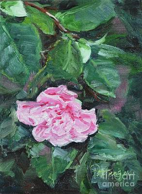 Blooming Camellia Original by Lori Pittenger