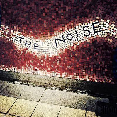 Subway Art Photograph - Blooming - The Noise by Natasha Marco