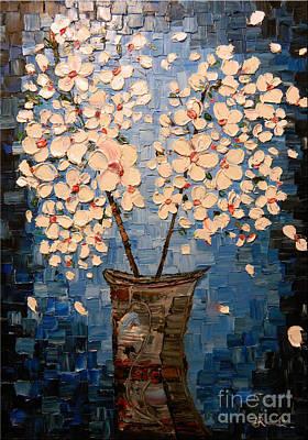 Blossom Bouquet Print by Alexandru Rusu
