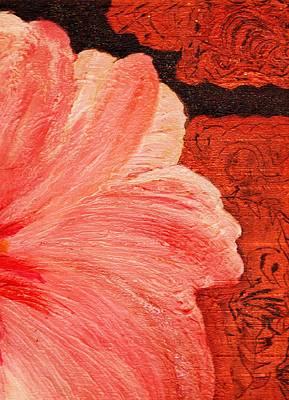 Blossom Emerging Print by Anne-Elizabeth Whiteway