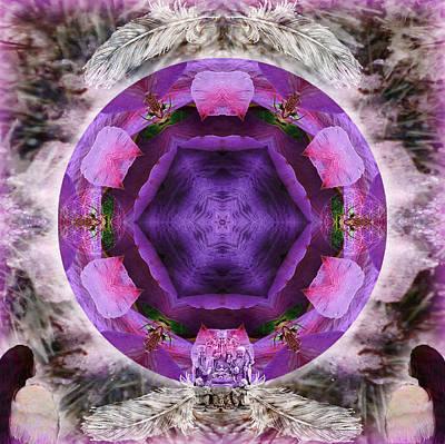 Sahasrara Mixed Media - Blossoming by Alicia Kent