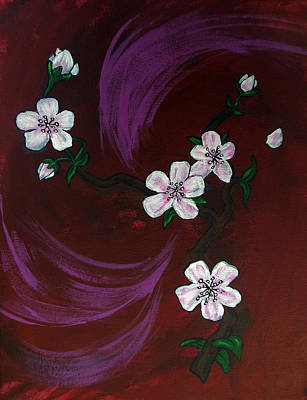 Blossoms Print by Nyxie Clark