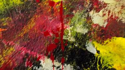 Loser Painting - Blotted Credibility by Paula Andrea Pyle