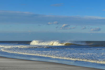 Blowin' In The Wind Seaside Heights New Jersey Print by Terry DeLuco