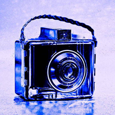 Kodak Photograph - Blue Baby Brownie Special by Jon Woodhams